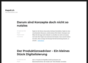 blog.rapsli.ch