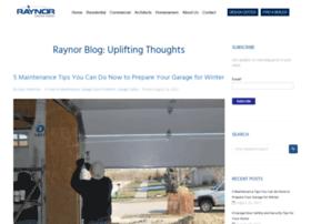 Blog.raynor.com