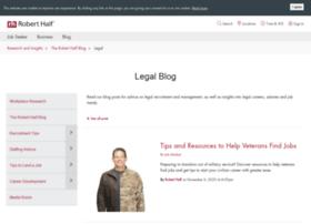 blog.roberthalflegal.com