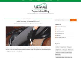 blog.robinsonsequestrian.com