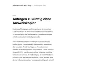 blog.selbstauskunft.net
