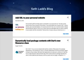 blog.sethladd.com