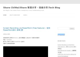 blog.sharechiwai.com