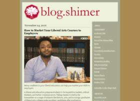 blog.shimer.edu