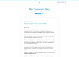 blog.snapcard.io
