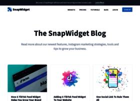 blog.snapwidget.com