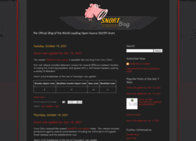 blog.snort.org