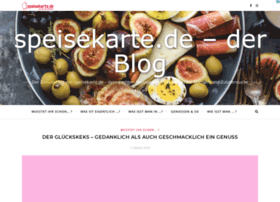 blog.speisekarte.de