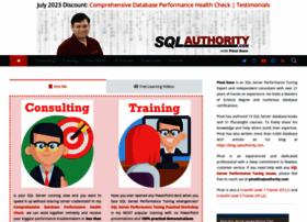 blog.sqlauthority.com