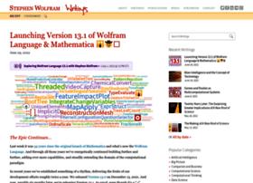 blog.stephenwolfram.com