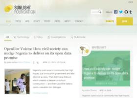blog.sunlightfoundation.com