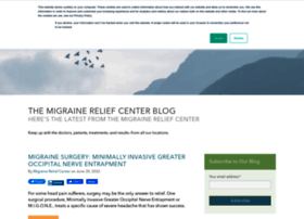blog.themigrainereliefcenter.com