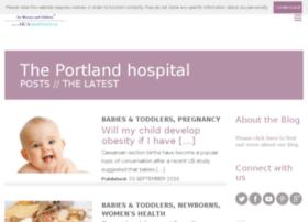 blog.theportlandhospital.com