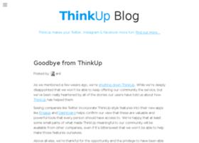 blog.thinkup.com