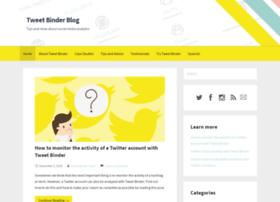 Blog.tweetbinder.com
