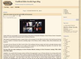 blog.uesp.net