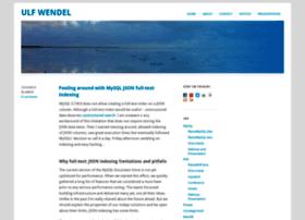 blog.ulf-wendel.de