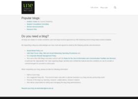 blog.une.edu.au