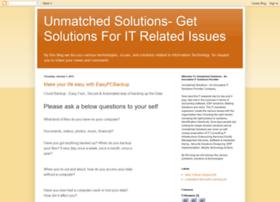 blog.unmatchedsolutions.com