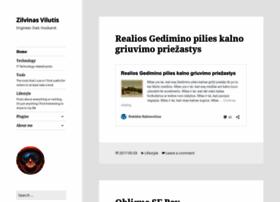 blog.vilutis.lt