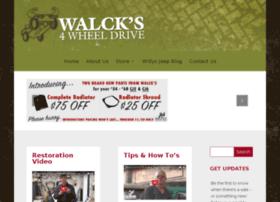 blog.walcks4wd.com