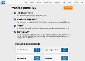 blog.wcxm-forum.de