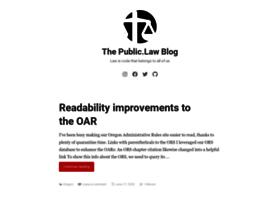 blog.weblaws.org