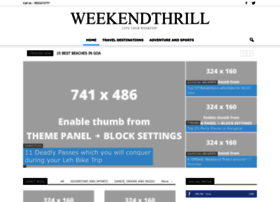 blog.weekendthrill.com