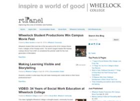 blog.wheelock.edu