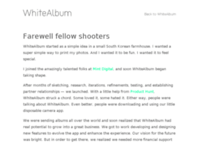 blog.whitealbumapp.com