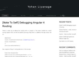 blog.yohanliyanage.com