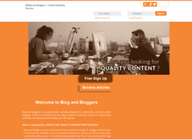 blogandbloggers.com