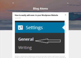 blogatoms.blogspot.in