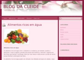 blogdacleide.com.br
