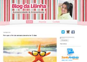 blogdalilinha.com.br
