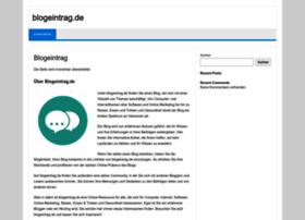 blogeintrag.de