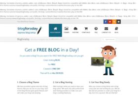 blogforaday.com