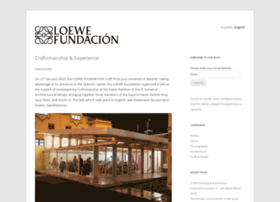 blogfundacionloewe.es