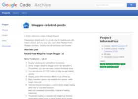 blogger-related-posts.googlecode.com