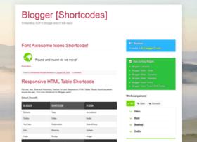 blogger-shortcode.blogspot.in