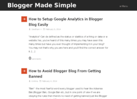 bloggermadesimple.com