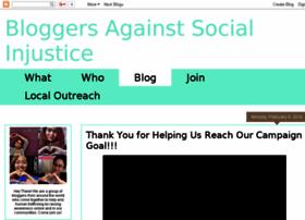 bloggersagainstsocialinjustice.blogspot.com
