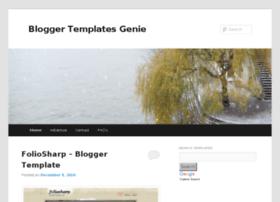 bloggertemplatesgenie.com