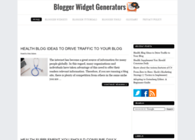 bloggerwidgetgenerators.com