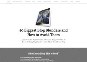 bloggingblunders.strikingly.com