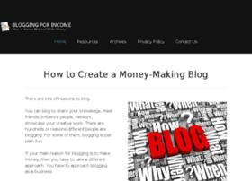 bloggingforincome.com