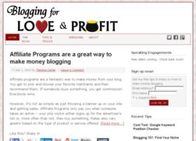 bloggingforloveandprofit.com