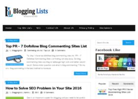 blogginglists.com