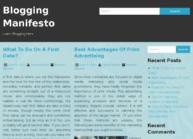 bloggingmanifesto.com