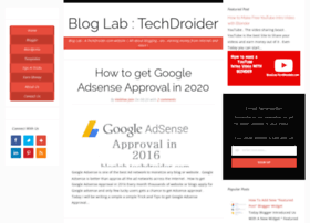 bloglab.techdroider.com